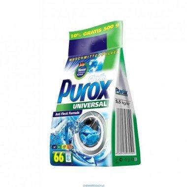 PUROX UNIVERSAL PROSZEK DO PRANIA 5,5 KG