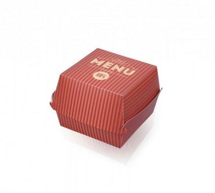 BURGERBOX M, BURGER BOX, ROZMIAR M, CZERWONY